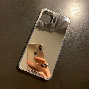 iPhone 11 Silver Mirror Phone Case